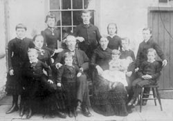 william hall family
